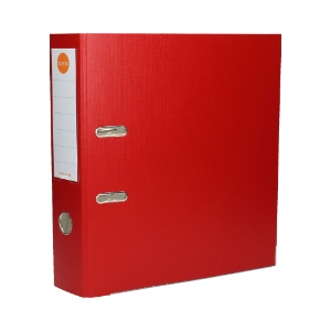 MT1201 Segregator A4 75mm czerwony